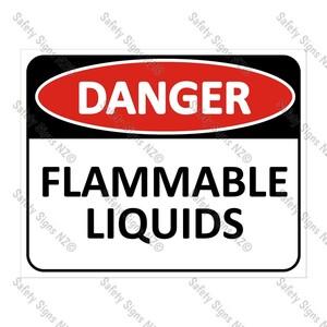 CYO|DA12 - Flammable Liquids Sign