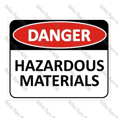 CYO|DA14 - Hazardous Substances Sign