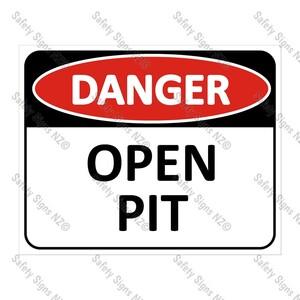 CYO|DA17 - Open Pit Sign