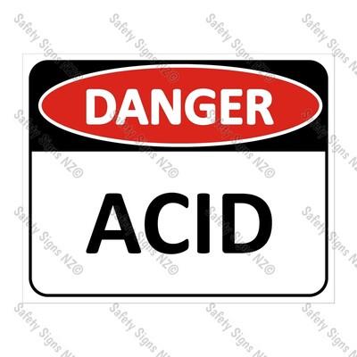 CYO|DA18 - Acid Sign