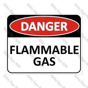 CYO|DA21 - Flammable Gas Sign