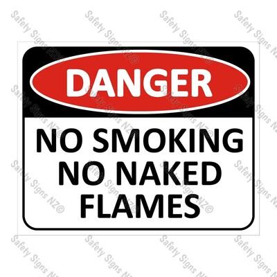 CYO|DA22 - No Smoking, No Naked Flames Sign