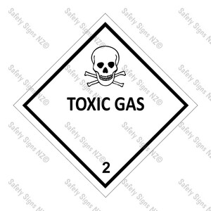 CYO|DG2.3 - Toxic Gas Dangerous Goods Sign