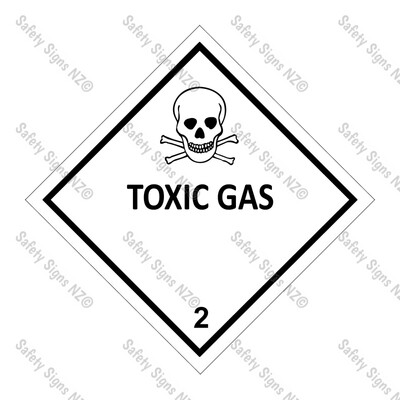 CYO|DG2.3 - Toxic Gas Dangerous Goods Sign