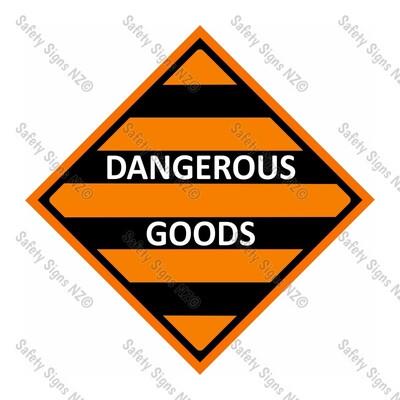 CYO|DGDG – Dangerous Goods Sign
