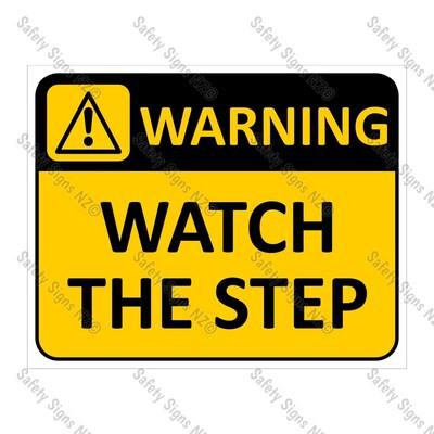 CYO|WA01 – Watch The Step Sign