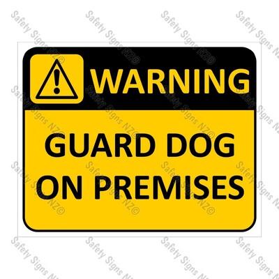 CYO|WA06 Guard Dog on Premises