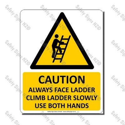 CYO|WC05 – Ladder Safety Sign