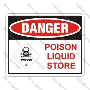CYO|DA13 – Poison Liquid Store Sign