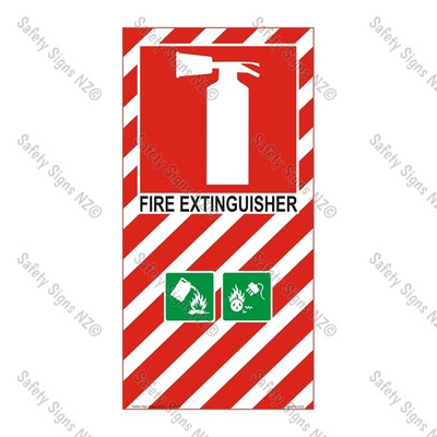CYO|FBC02- Fire Extinguisher Sign C02