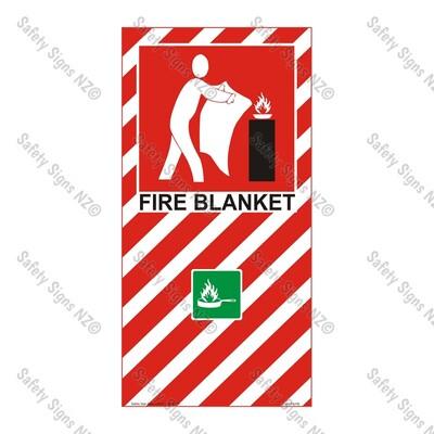 CYO|FBFB - Fire Blanket Sign