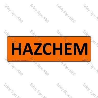 HZ1 - Hazchem Sign