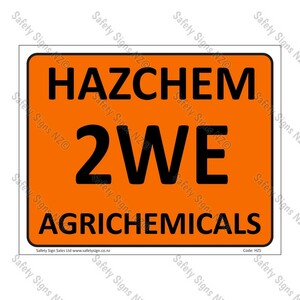 HZ5 - Hazchem 2WE Agrichemicals