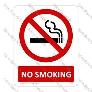 PA41 – No Smoking Sign