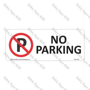 PX51 – No Parking Sign
