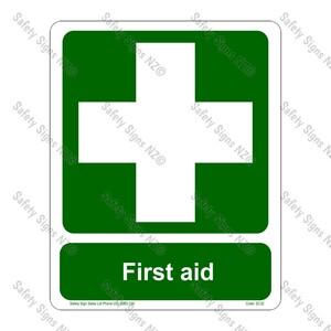 CYO|SC32 – First Aid Sign