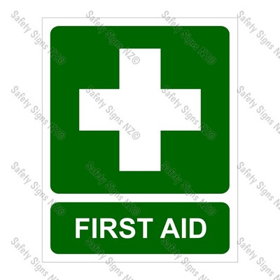 SC32L - First Aid Label