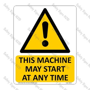CYO|WA79 – This Machine May Start At Any Time