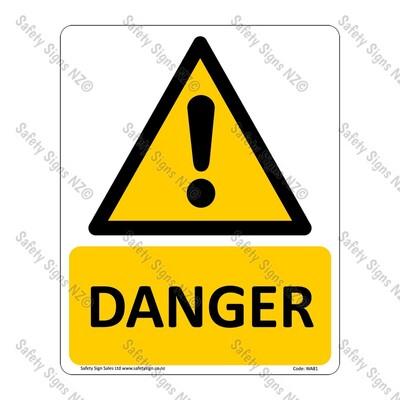 CYO|WA81 – Danger Sign