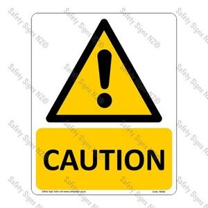 WA82 – Caution Sign
