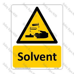 CYO WA85 – Solvent Sign
