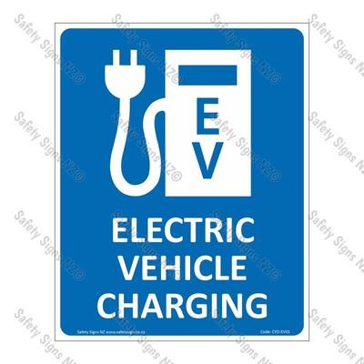 CYO|EV01 - Electric Vehicle Charging Sign