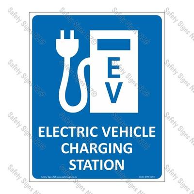 CYO|EV03 - Electric Vehicle Charging Sign