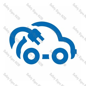 CYO|EVS01 - Electric Vehicle Car Sticker