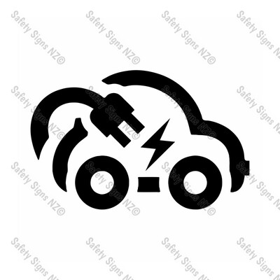 CYO|EVS02 - Electric Vehicle Car Sticker