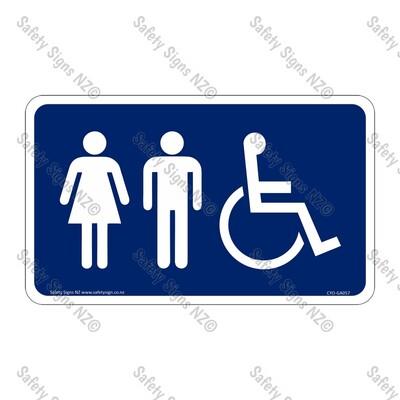 CYO|GA057 – Restroom Sign