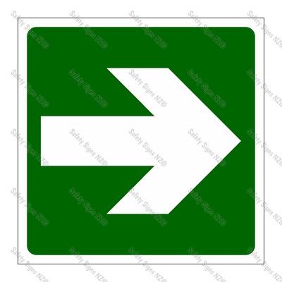 CYO|GA139C - Directional Arrow GREEN