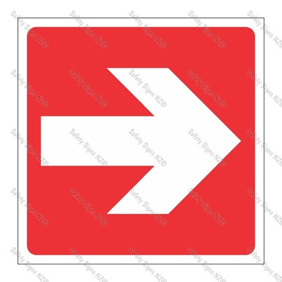 CYO|GA139D - Directional Arrow RED