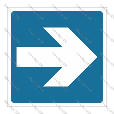CYO|GA139F - Directional Arrow BLUE