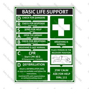 SC56 – Basic Life Support Sign