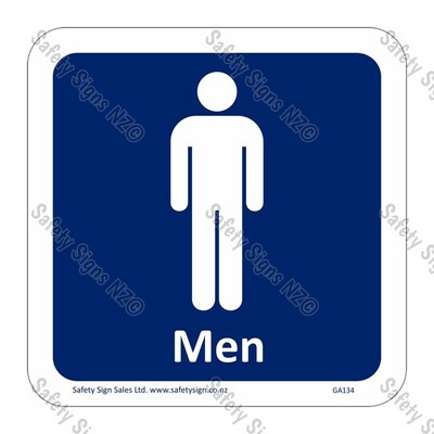 CYO|GA134 – Men Symbol Sign