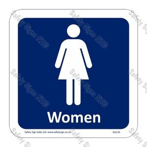 CYO|GA135 – Women Symbol Sign