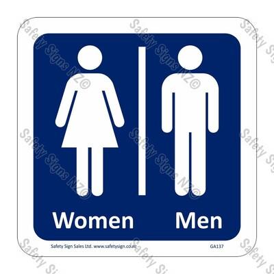 CYO|GA137 – Men/Women Symbol Sign