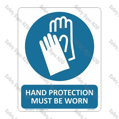 CYO|MA52 – Hand Protection Must Be Worn Sign