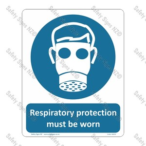 CYO|MA54 – Respiratory Protection Must be Worn Sign
