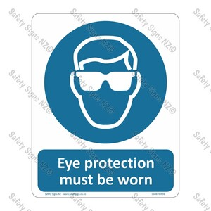 CYO|MA56 – Eye Protection Must Be Worn Sign