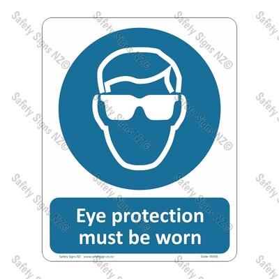 CYO|MA56 – Eye Protection Must Be Worn Sign