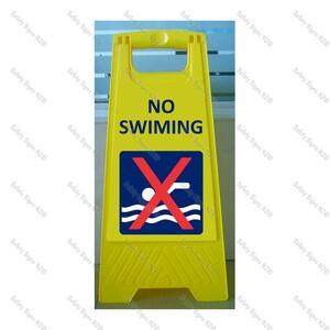 CYO|WG98J1 - No Swimming Sign