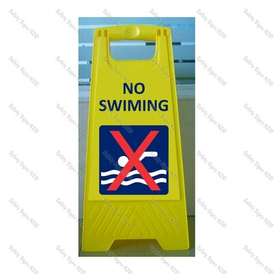 CYO|WG98J1 - No Swimming Sign