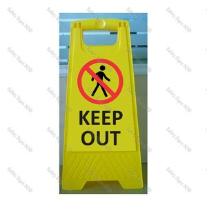 CYO|WG98L - Keep Out Sign