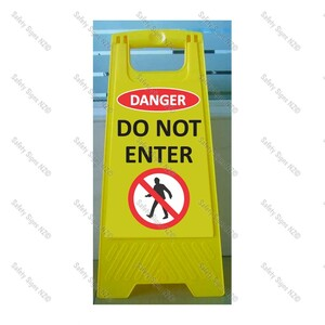 CYO WG98L1 - Danger Do Not Enter Sign