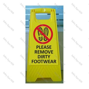 CYO|WG98Q - Please Remove Dirty Footwear
