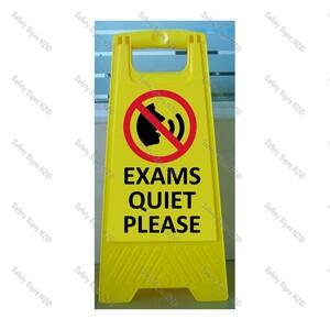 CYO WG98R - Exams Quiet Please