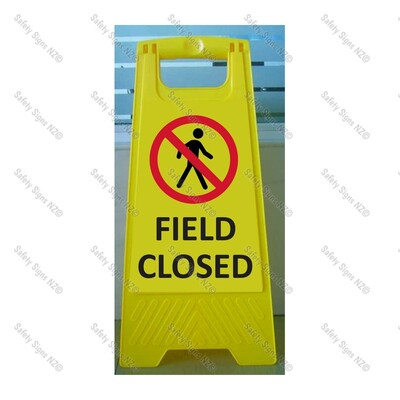 CYO|WG98R1 - Field Closed Sign