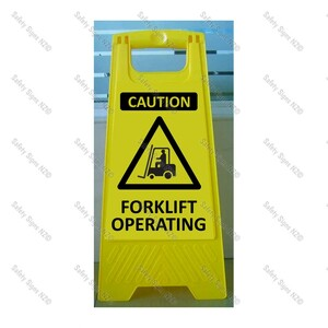 CYO|WG98T - Forklift Operating Sign