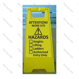 CYO|WG98U1 - Workplace Hazards Sign